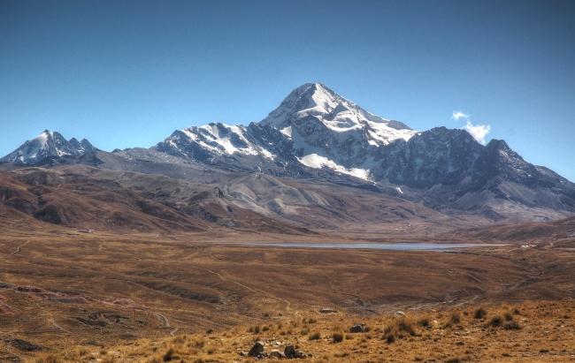 The mountain.